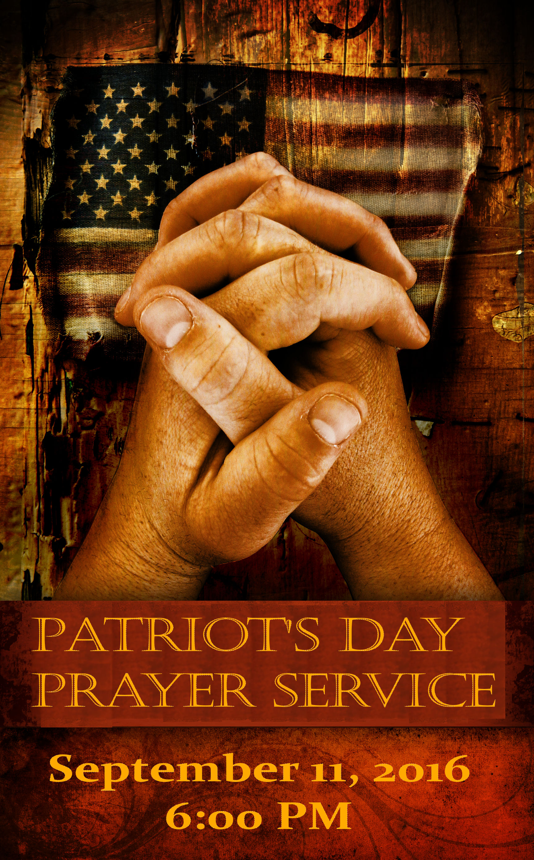Patriot's Day Prayer Service