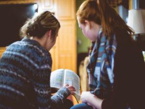 Women Studying the Bible